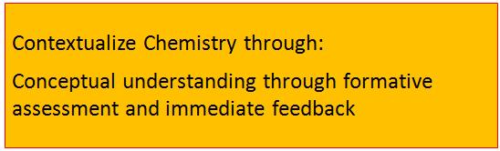 Contextualize Chemistry through